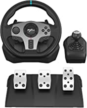 PXN V9 Gaming Racing Wheel with Pedals and Shifter, Steering Wheel for PC, Xbox One, Xbox Series X/S, PS4, PS3 and Nintend...