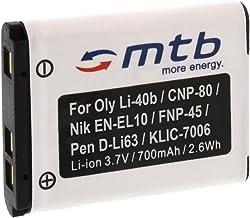 Batería NP-45 para FujiFilm FinePix XP50, XP60, Z10fd, Z20fd, Z30, Z31, Z33WP. (Ver la descripción)