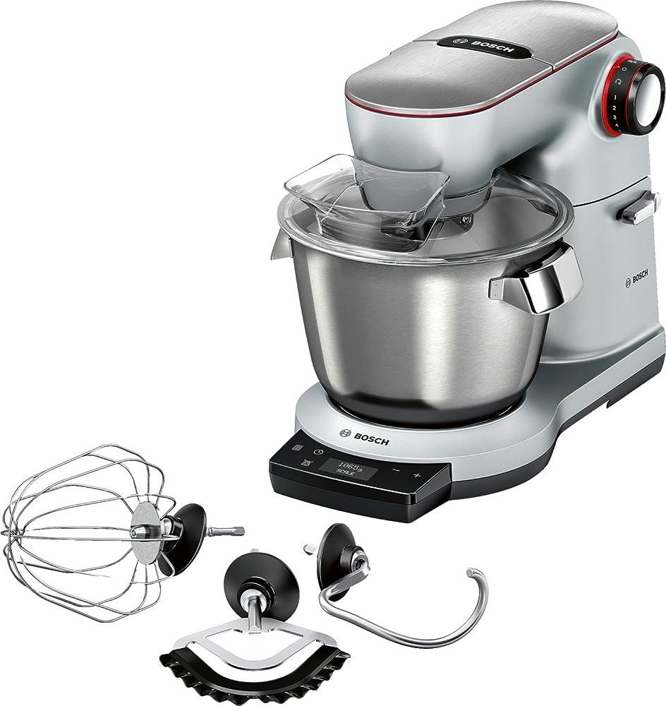 Bosch elettrodomestici , robot ,  planetaria da cucina con bilancia integrata e capacità da 5.5 litri, 1500 w MUM9AX5S00