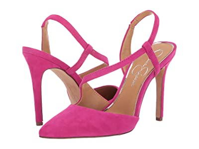 Jessica Simpson Paselle (Cupids Pink Lux Suede) Women
