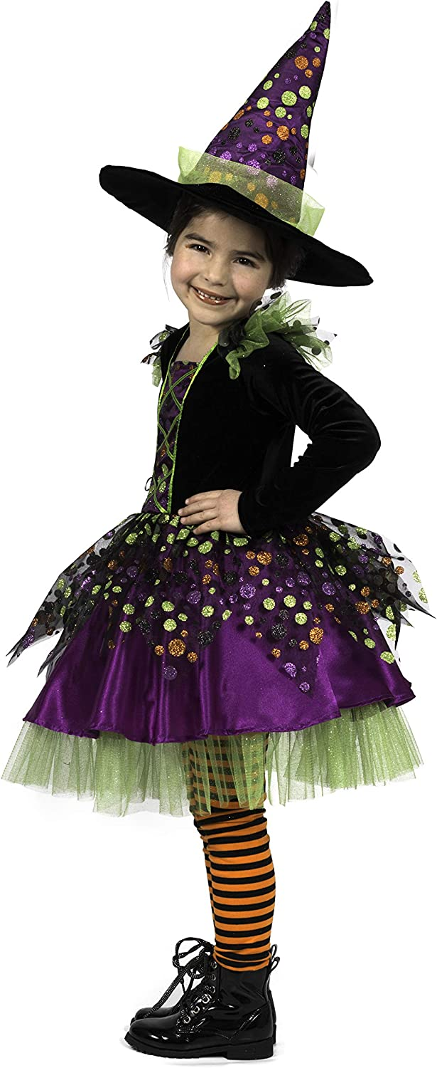 Princess Paradise Childs Dotty The Witch Costume Medium