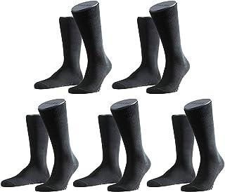 FALKE Socken 5 Paar, Herren Strümpfe Family Einfarbig, Vorteilspack