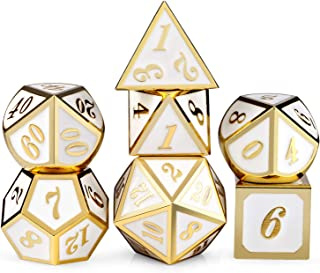 Best white and gold dice set Reviews