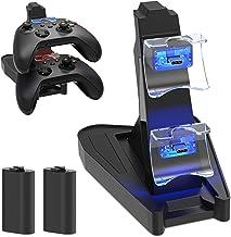 Suporte de carregamento para Xbox Series X, Controlador Xbox Series S, Carregador DualSense MENEEA Kit de acessórios com 2...