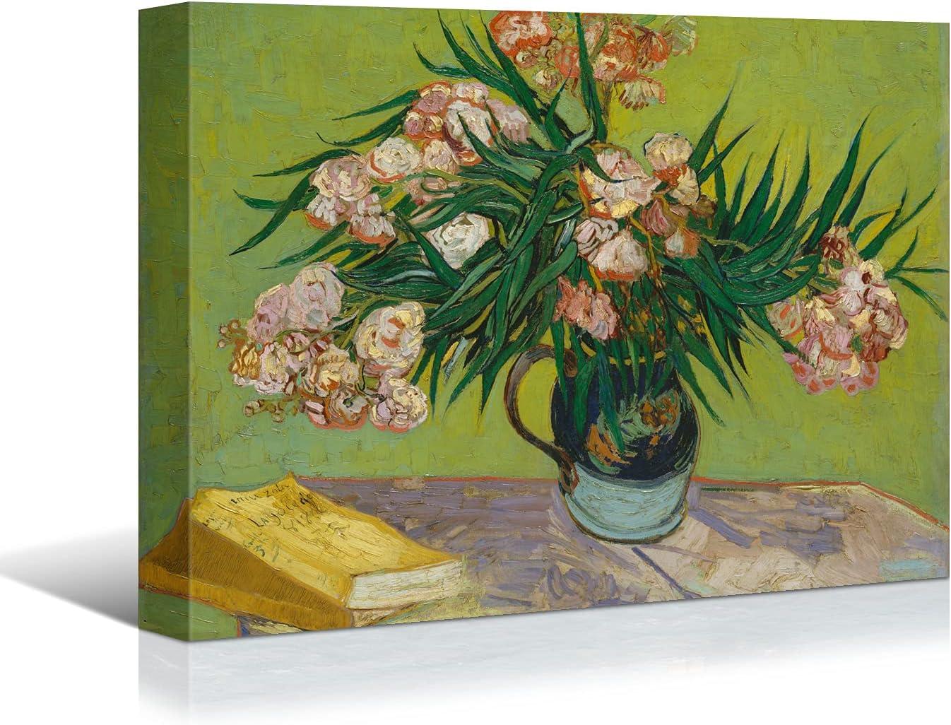 Looife Van Gogh Canvas Wall Art Decor Flower 36x24 Inch on New Shipping Free Tabl Kansas City Mall