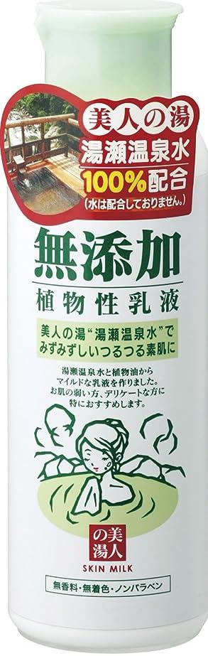 危険サドル話をするユゼ 無添加植物性 乳液 150ml