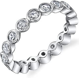 Best bezel set engagement ring wedding band Reviews