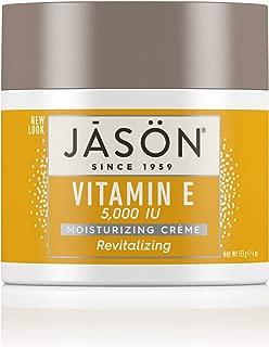 JASON Revitalizing Vitamin E 5,000 IU Moisturizing Crème, 4 Ounce Container