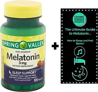 spring valley melatonin 10 mg with lemon balm
