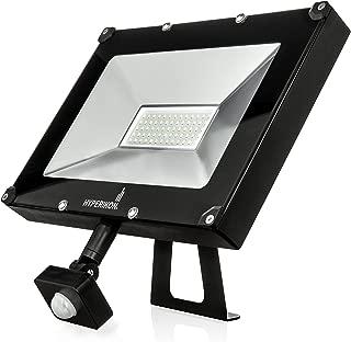 Hyperikon LED Motion Sensor Light, 200 Watt Replacement (50W), Outdoor Flood Light, 5000k, IP65, UL