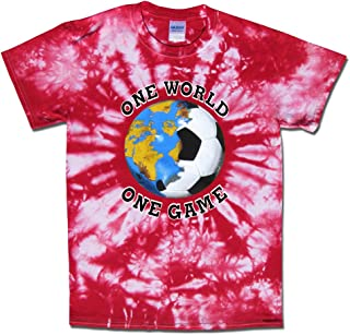 England Soccer One World Tie Dye T-Shirt Jersey