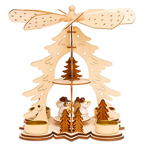 German Wooden Christmas Angels Amazoncouk