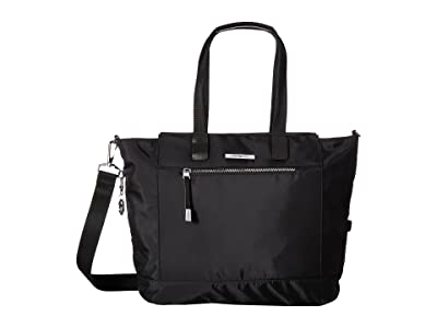 Hedgren Glaze RFID Large Tote (Black) Tote Handbags