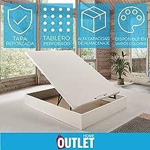 Canapé abatible Wood de Home Medida 140x190 cm Color Blanco