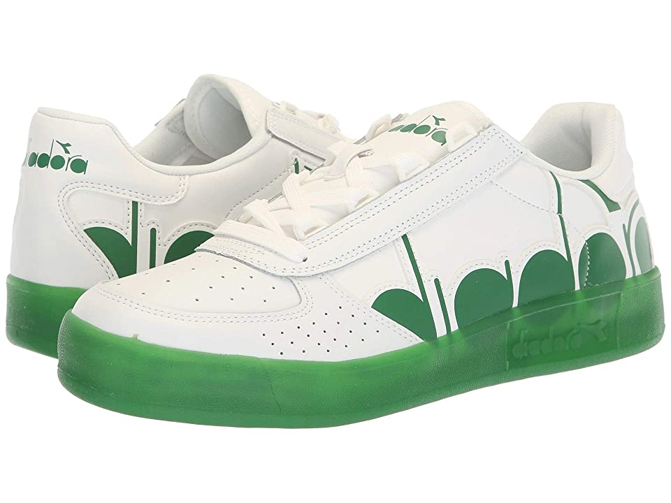 Diadora B.Elite Bolder (White/Peas Cream) Athletic Shoes
