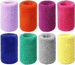 Abaodam 10 Stks 15 cm Verlengen Sport Polsbandjes Zweet Absorberende Polsbeschermer Universele Polyester Polsbrace voor Fi...