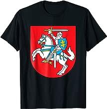 Lithuania T-shirt Coat of arms Tee Flag souvenir Vilnius