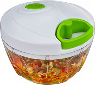Brieftons Manual Food Chopper, Compact & Powerful Hand Held Vegetable Chopper /..