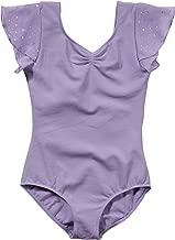 Bloch Kids Baby Girl's Flutter Sleeve Leotard with Sequin Dot (Toddler/Little Kids/Big Kids)
