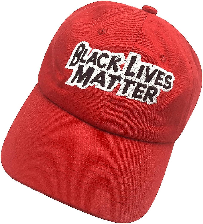 Shengyuan Lin Black Lives Matter Dad Hats Baseball Cap Embroidered Adjustable Snapback Unisex
