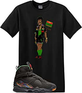 Jerome Shirt Jordan Retro 8 Tinker AIR RAID Concord Aloe