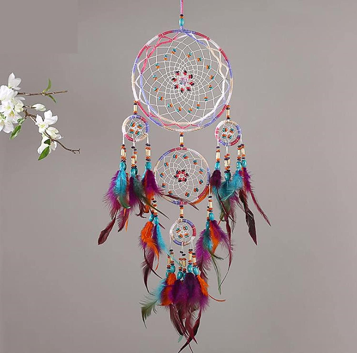 Dream Catchers Free Shipping New Sale price Handmade for Feather Bedroom Crafts Catcher