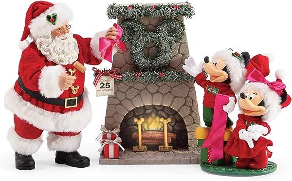 Department 56 Possible Dreams Santas Mickey And Minnie S Wreath Figurine 10 5 Multicolor