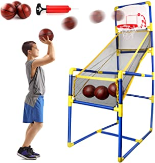 Edaick Basketball Hoop Game Indoor Sports Toys for Kids,Basketball Shooting Training System Play Sets Game Toys for Boy an...