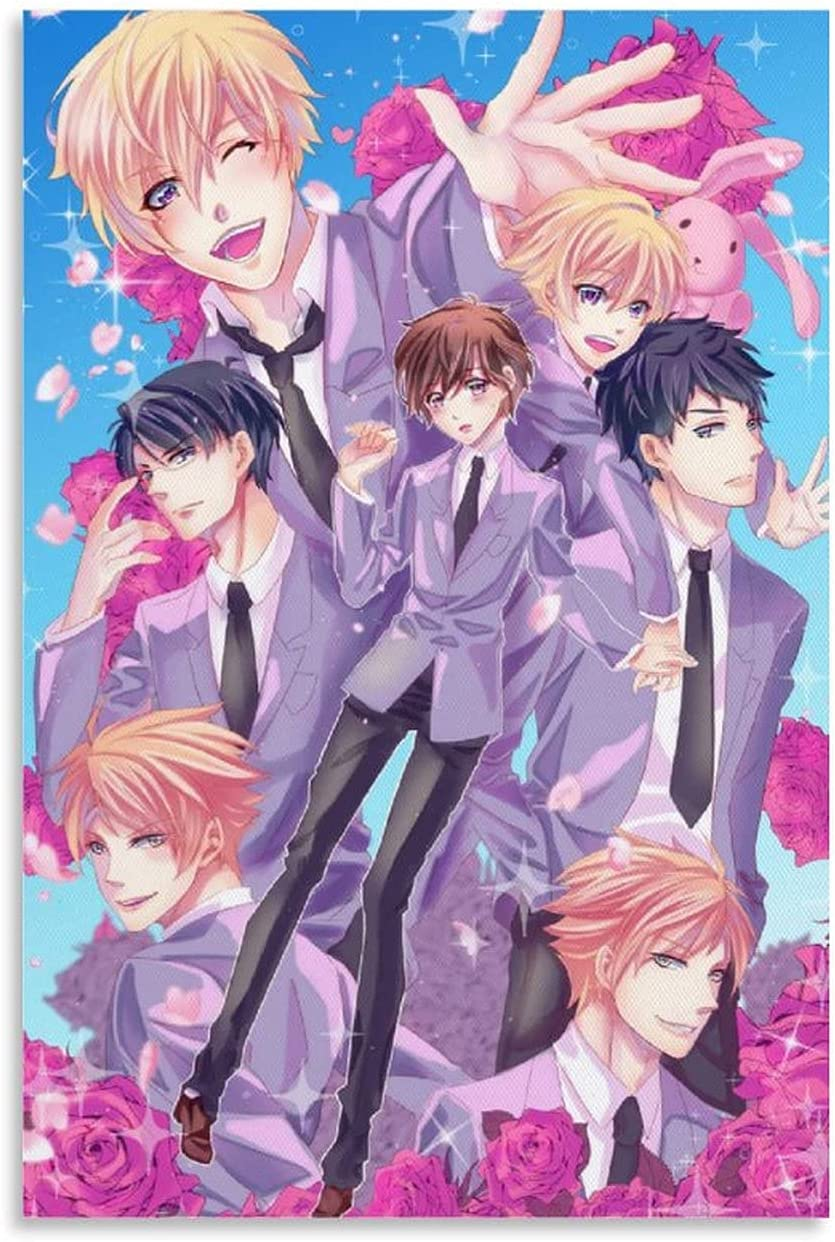 Vipant Ranking TOP19 Anime Posters Ouran High School Post Club Charlotte Mall Canvas Art Host