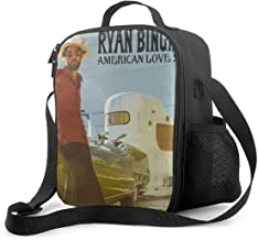 Honghuawenhua Tough & Spacious Ryan Bingham Reusable Insulated Picnic Lunch Bag with Adjustable Shoulder Strap