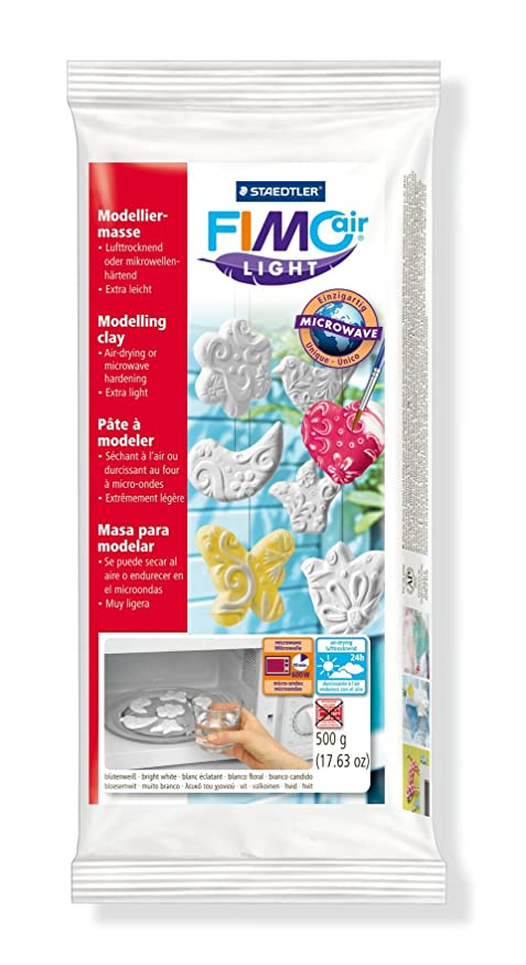 Fimo Staedtler Air Light 8132-0 Air Drying Modelling Clay 500g - White by