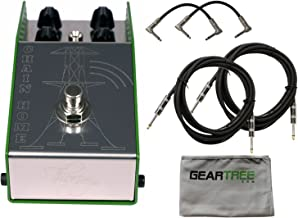 ThorpyFX Chain Home Tremolo Boost Pedal w/Cleaning Cloth and 4 Cables
