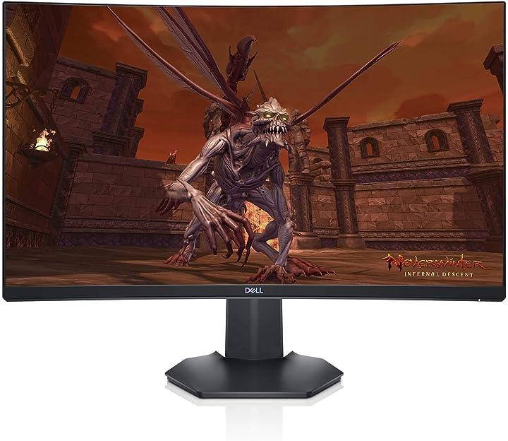 Monitor pc 27 pollici schermo per pc da gaming, 27
