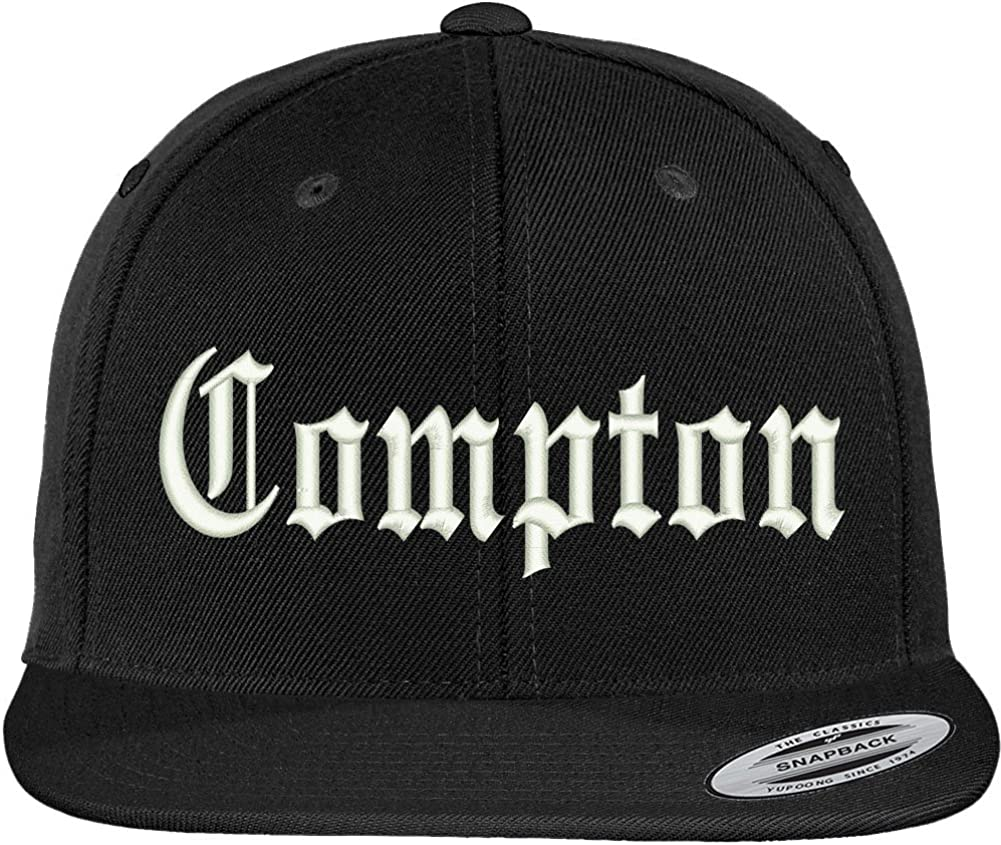 Trendy Apparel Shop Compton City Old English Branded goods Flat Embroidered Gorgeous Bi