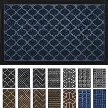 DEXI Door Mat Front Indoor Outdoor Doormat,Small Heavy Duty Rubber Outside Floor Rug for Entryway Patio Waterproof Low-Pro...
