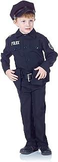 طقم زي الشرطة للاطفال من اندر رابس - اسود أسود Large
