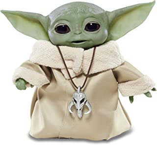 """Star Wars The Child Animatronic Edition """"AKA Baby Yoda"""" with Over 25 Sound and Motion Combinations, The Mandalorian Toy for Kids Ages 4 and Up"""