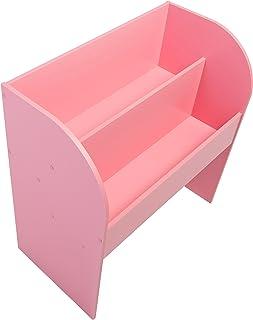 Iris Ohyama, estante para niño-Kids Book Shelf-madera, rosa, 67,4 x 36 x 69,8 cm, 67.4x36x69.8 cm