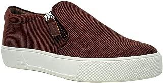 Very Volatile Women's Billing Slip-on Platform Sneaker with Double Zipper Detail