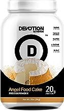 Devotion Nutrition Protein Powder, Angel Food Cake, 20g Protein, 1g Mct, Protein Baking Powder, Whey Protein Powder, Low Carb Protein, 2 Pound Tub, 1 Count