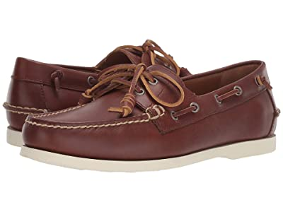 Polo Ralph Lauren Merton (Deep Saddle Tan Heavyweight Smooth Leather) Men