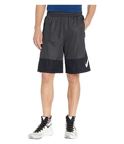 Nike Dry Shorts Asymmetrical (Anthracite/Black/White) Men