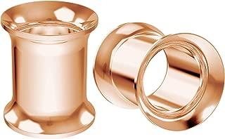 Best rose gold ear gauges Reviews