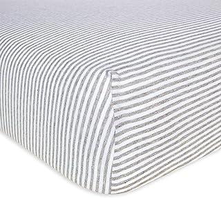 Burt's Bees Baby - Fitted Crib Sheet, Boys & Unisex 100% Organic Cotton Crib Sheet For Standard Crib and Toddler Mattresse...