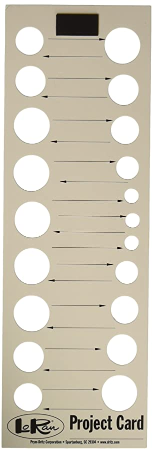LoRan PN-3P Needlework Project Cards, 3 Count