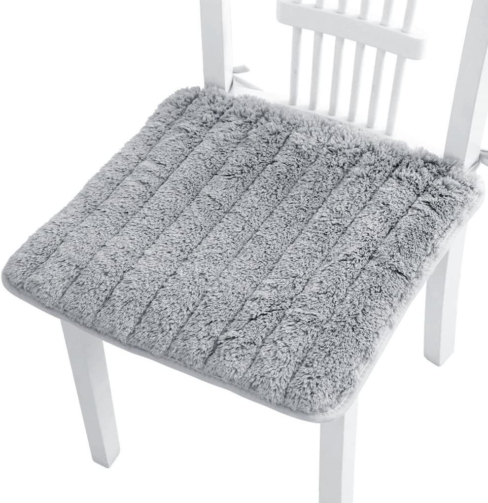 Ultra Soft Cozy Plush Chair Max 80% OFF Pads Tie Self Anti-Slip sold out with Square