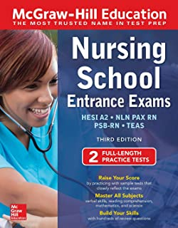McGraw-Hill Education Nursing School Entrance Exams, Third Edition (Mcgraw-Hill's Nursing School Entrance Exams)