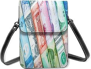 Monedero pequeño del teléfono celular del dinero