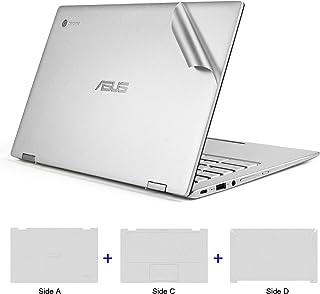 ملصق واقٍ لكامل الجسم من Labogy لجهاز الكمبيوتر المحمول ASUS Chromebook Flip C434TA-DSM4T 2 في 1 كمبيوتر محمول 14 بوصة، لـ...