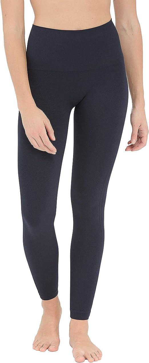 DBolomm Womens Mid Waist Zip Newspaper Print Mesh Slimming Leggings Checkered Skinny Pants